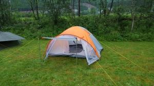 Jeg hadde bestemt meg for å bo i telt i år. Egentlig ikke helt sikker på hva som gjorde at jeg skulle gjøre det.