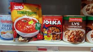 Men seriøst, over 50 spenn for en pose tomatsuppe? Så hjemlengsel har jeg ikke.